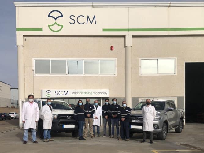 Equipo scm solar
