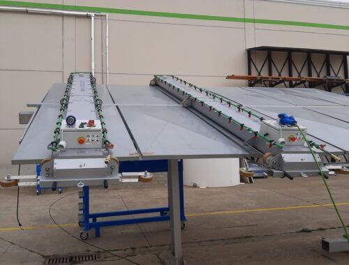 equipo para limpiar paneles solares adaptable 25cm