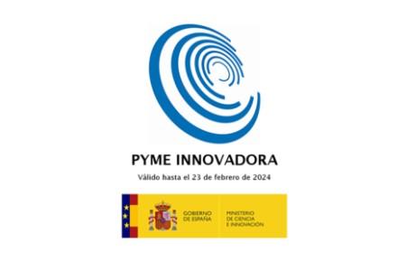 Pyme Innovadora por el ministerio de ciencia e innovación