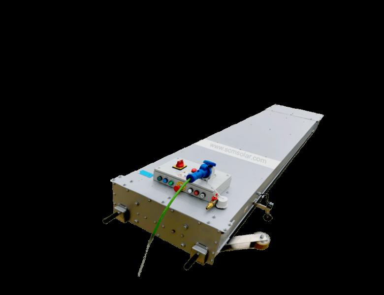 Modelo para limpieza de placas solares