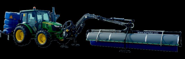 Modelo D2 con brazo hidráulico